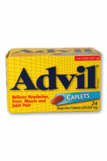Advil Caplets: Regular Strength - Pack of 1