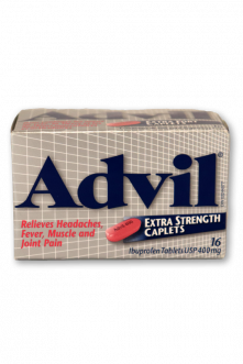 Advil Caplets: Extra Strength - Pack of 1