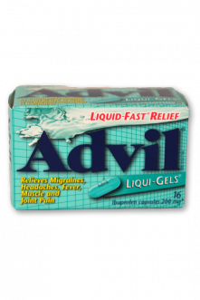 Advil Liqui Gels: Regular Strength - Pack of 1