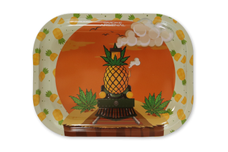 Small Rolling Tray: Pineapple Train - Pack of 1