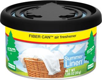 Little Tree Fiber Can: Summer Linen - Pack of 4