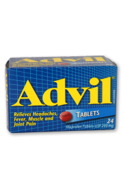 Advil Tablets 24's: Regular Strength - Pack of 1
