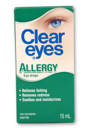 Clear Eyes: Allergy - Pack of 1