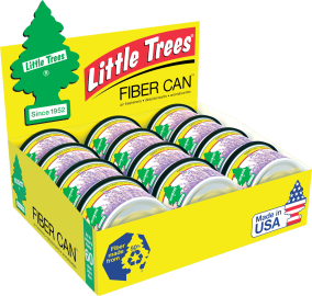 Little Tree Fiber Can: Lavender - Pack of 12
