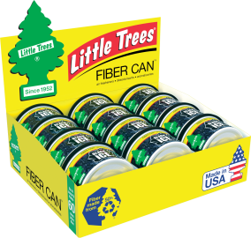 Little Tree Fiber Can: Black Ice - Pack of 12