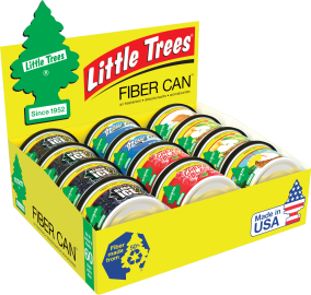 Little Tree Fiber Can: Assorted - Pack of 12