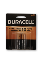 Duracell Alkaline AA2 - Pack of 2