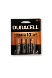 Duracell Alkaline AA4 - Pack of 2