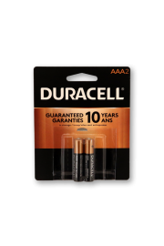 Duracell Alkaline AAA2 - Pack of 2