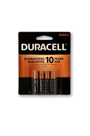 Duracell Alkaline AAA4 - Pack of 2