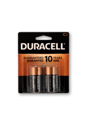 Duracell Alkaline C2 - Pack of 2