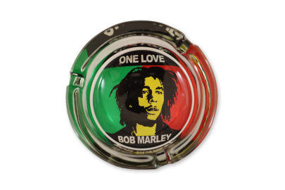 Bob Marley Glass Ashtray: One Love - Pack of 1