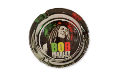 Bob Marley Glass Ashtray: The Legend Lives - Pack of 1