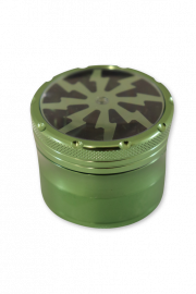 Grinders 4P Metal CNC: Green - Pack of 1