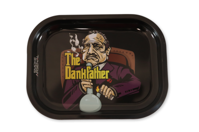 Small Rolling Tray: The Dankfather - Pack of 1