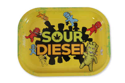 Small Rolling Tray: Sour Diesel - Pack of 1