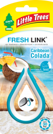Little Tree Fresh Link: Caribbean Colada - Pack of 2