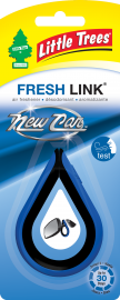 Little Tree Fresh Link: New Car Scent - Pack of 2