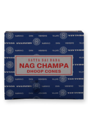 Satya Dhoop Cones: Nag Champa - Pack of 3