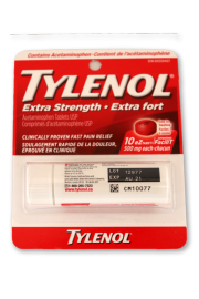 Tylenol 10's: Extra Strength - Pack of 1