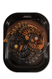 Small Rolling Tray: Owl Contrast - Pack of 1