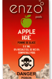 ENZO: Apple Ice 6% - Pack of 1