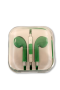 WWS Earphones: Green - Pack of 1